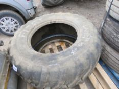TRAILER TYPE TYRE 500/60 22.5 SIZE.