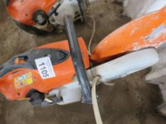STIHL TS410 PETROL SAW, UNTESTED, CONDITION UNKNOWN.