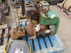 PETTER HANDLE START DUMPER ENGINE, WORKING WHEN REMOVED.