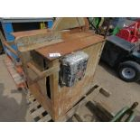OLD STYLE WOOD CUTTING SAWBENCH.