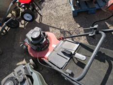 ALKO PETROL MOWER WITH COLLECTOR BAG.