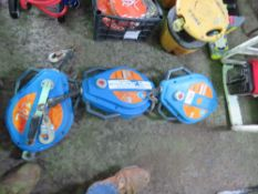3 X MAN RECOVERY WINCHES, UNTESTED.