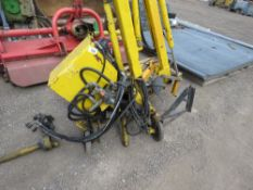 ROUSSEAU RV300 COMPACT TRACTOR FLAIL HEDGE CUTTER. SOURCED FROM A PARISH COUNCIL HAVING CHANGED TO A