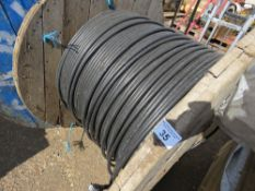 ROLL OF ARMOURED TELECOMS CABLE.
