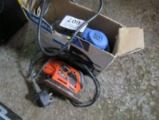 PALM SANDER PLUS A JIGSAW. UNTESTED, CONDITION UNKNOWN.