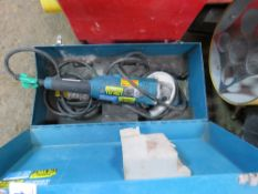 MAKITA PC500-1C 110 VOLT WALL GRINDER.CONDITION UNKNOWN.