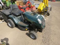 HAYTER 13/30 RIDE ON MOWER. WHEN TESTED WAS SEEN TO RUN AND DRIVE.