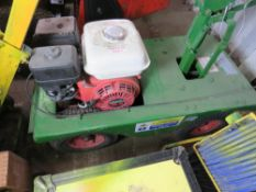 PETROL ENGINED TURF CUTTER, RETIREMENT SALE.