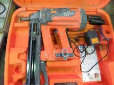 SPIT PULSA 700P NAIL GUN IN CASE.