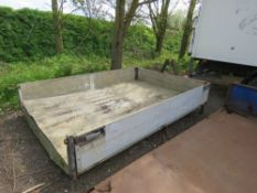 HOOK LOADER BODY, DROPSIDE., PREVIOUSLY USED ON 3.5TONNE LORRY.