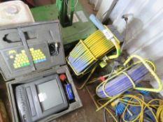 DRAIN CAMERA SYSTEM WITH 2 X REELS ETC, RETIREMENT SALE.