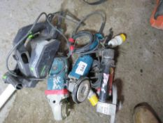 4 X POWER TOOLS: 3 X GRINDERS PLUS A PLANER.