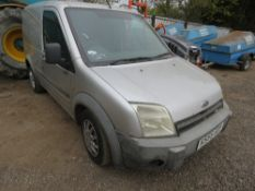 ford transit connect panel van reg:KS55 GDY. 166,588 REC MILES. SOLD WITH V5 AND SPARE KEYS. TEST EX