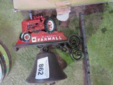 FARMALL TRACTOR BELL.