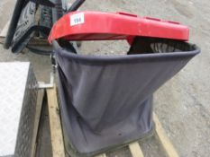 COUNTAX RIDE ON MOWER COLLECTOR BAG.