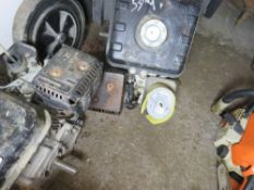 2 X PETROL ENGINES, UNTESTED, CONDITION UNKNOWN.