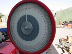 500KG RATED PLATFORM SCALES.