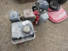 2 X PETROL ENGINES, CONDITION UNKNOWN.