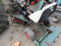 NATIONAL RIDE ON TRIPLE CYLINDER MOWER.