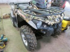 CANAM OUTLANDER 500 4WD QUAD BIKE, REG:AF64 ENM WITH V5. 3073 REC MILES. DIRECT FROM LOCAL FARM CONT