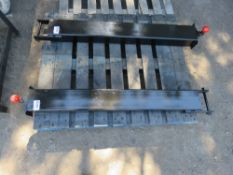 BALL HITCH UNIT FOR FORKLIFT TINE, 4FT LENGTH APPROX.