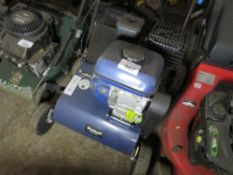 EINHELL PETROL ENGINED SCARIFIER / SLITTER. WHEN TESTED WAS SEEN TO RUN AND BLADES TURNED. LITTLE SI
