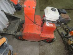 MORTIMER PETROL ENGINED TURF CUTTER.