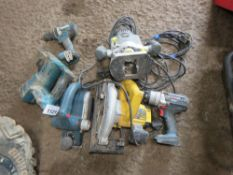 6 X ASSORTED POWER TOOLS.UNTESTED, CONDITION UNKNOWN.