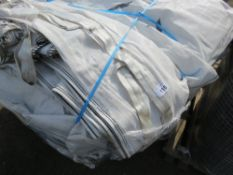 PALLET CONTAINING APPROXIMATELY 75 X 1 TONNE/2/2.5 CU METRE BULK BAGS, PREVIOUSLY SINGLE USED.