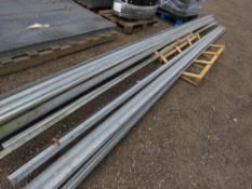 APPROXIMATELY 100 NO 6M LENGTH ANGLE IRONS. 45MM X 45MM APPROX.