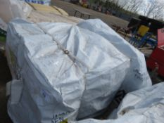 LARGE PACK OF FLAT MACHINED FINISH CLADDING TIMBER BOARDS 1.14M X 9.5CM APPROX, UNTREATED.