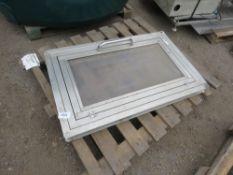 FELCON METAL FRAMED WINDOW, 600X1000MM OPENING APPROX.