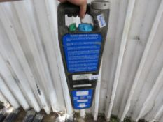 CABLE/BURIED SERVICES LOCATION DEVICE (CABLE DETECTOR). WHEN TESTED WAS HEARD TO MAKE A NOISE WHEN T