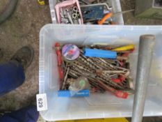 LARGE BOX OF ASSORTED DRILL BITS SOURCED FROM WORKSHOP CLOSURE.