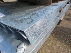 PACK OF 50 X 10FT LENGTH APPROX GALVANISED CORRUGATED ROOF SHEETS, 26G. 90cm wide