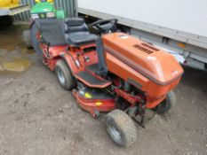 WESTWOOD S1300 RIDE ON MOWER WITH COLLECTOR. UNTESTED, CONDITION UNKNOWN.
