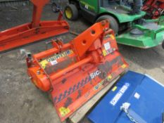 FLEMING 1.5METRE TRACTOR MOUNTED ROTORVATOR WITH PTO SHAFT.