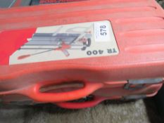 2X TR400 TILE CUTTERS SOURCED FROM DEPOT CLEARANCE.