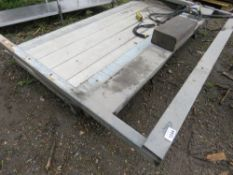 TAIL LIFT ASSEMBLY, 1 TONNE RATED, RECENTLY REMOVED FROM 7.5TONNE LORRY.