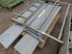 SET OF SIDES AND A HEADBOARD FOR AN IFOR WILLIAMS LM 5 SERIES TRAILER 7FT LENGTH APPROX.