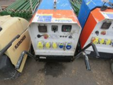 HARRINGTON 6KVA BARROW GENERATOR, YEAR 2019. WHEN TESTED WAS SEEN TO START AND RUN AND SHOWED POWER
