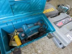 MAKITA 110V POWER PLANER IN CASE SOURCED FROM DEPOT CLEARANCE.