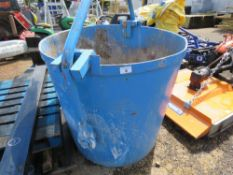 CONCRETE CRANE BUCKET, 1000LITRE CAPACITY. DIRECT FROM LOCAL COMPANY AS PART OF THEIR FLEET RENEWAL