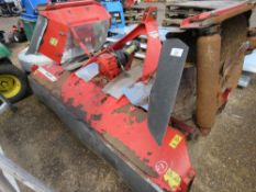 TRIMAX STEALTH S2 340 FOLDING ROLLER MOWER. HYDRAULIC FOLDING WINGS. SUIT 80HP TRACTOR OR ABOVE. WH