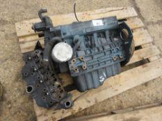 KUBOTA V1505-D 4 CYLINDER DIESEL ENGINE, DISMANTLED...CONDITION UNKNOWN.