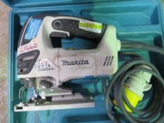 MAKITA 110VOLT JIGSAW IN BOX. UNTESTED, CONDITION UNKNOWN.