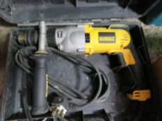 DEWALT 240V DRILL SOURCED FROM DEPOT CLEARANCE.