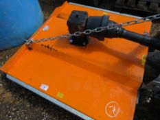 BEACO REAR TRACTOR TOPPER MOWER, YEAR 2017, 4FT WIDTH APPROX.