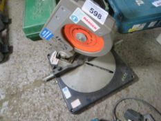 240V MITRE SAW TABLE SOURCED FROM DEPOT CLEARANCE.