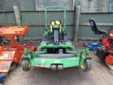"""JOHN DEERE 1445 SERIES II OUT FRONT 4WD RIDE ON MOWER. 865 REC HOURS. 62"""" COMMERCIAL DECK FITTED."""